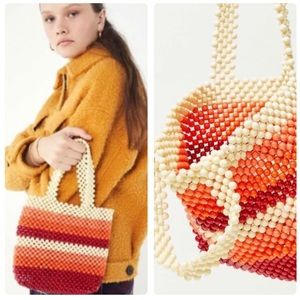 Urban Outfitters Mini Beaded Tote